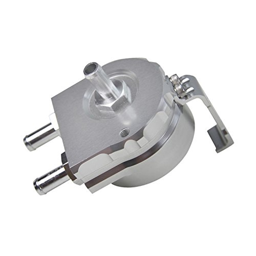 ALLOYWORKS Baffled Billet Aluminum Oil Catch Tank Can Reservoir Tank Universal ( Silver ) by ALLOYWORKS (Image #6)