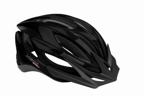 Vigor Helmets Fast Traxx 24 Vent CPSC Certified Performance Helmet, Black, Small