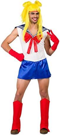 Disfraz de Sailor Moon para hombre: Amazon.es: Juguetes y juegos
