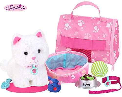 - Sophia's Soft Kitten & Accessory Set, 18