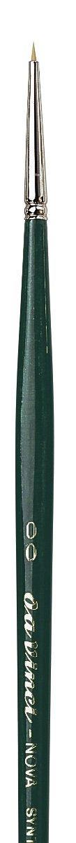 Size 18 122-18 da Vinci Nova Series 122 Hobby Brush Hobby Flat Synthetic
