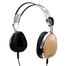 Tribeca Genuine Wood Aviator Headphones for Kindle Fire HD, Maple