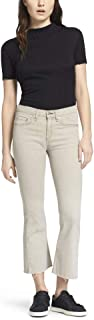 product image for Rag & Bone/JEAN Raw Edge Crop High Rise Flare Jeans (Beige) – 29