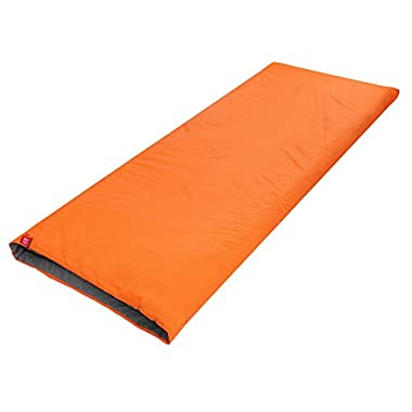 Naturehike Outdoor Envelope Ultra-light Sleeping Bag for Camping Travel Hiking (Orange)