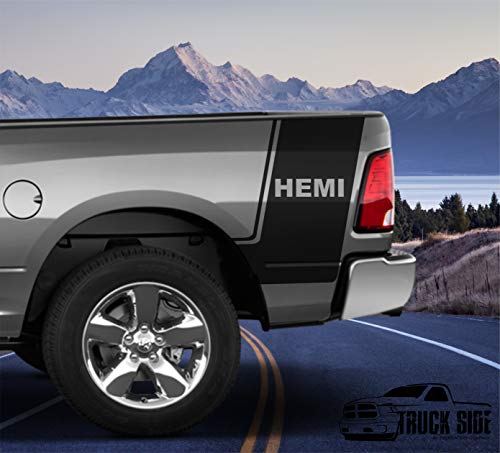 dodge ram bed decal - 3