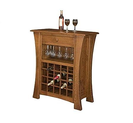 Jangir JDBF222 Bar Cabinet (Medium Glossy Finish, Walnut)