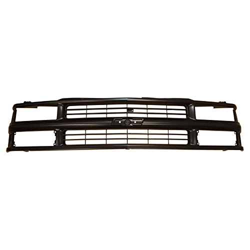 Chevy Truck Grill - Grille Grill Front End Black for Chevy C/K Pickup Truck Suburban Tahoe Blazer