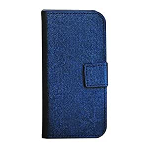 Business Style Special Texture Design PU Leather Case with Card Slot for iPhone 5C (Assorted Colors) --- COLOR:Black