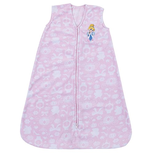- Disney Baby Cinderella/Princess Super Soft Microfleece Wearable Blanket, Blue, Medium