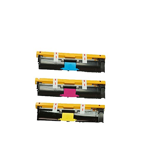 007 Magenta Toner Cartridge (Compatible Cyan Magenta Yellow High Capacity Konica Minolta Toner Cartridge 1710587-005 1710587-006 1710587-007 (8000 Page Yield) for Konica Minolta MagiColor 2490MF- 3 Pack)
