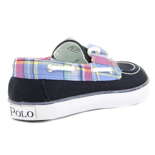 Polo Ralph Lauren Enfants Sander Mode Sneaker (enfant En Bas Âge / Petit Enfant / Grand Enfant) Marine