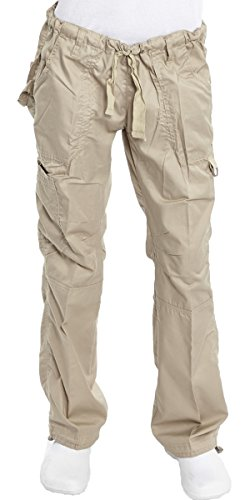 Hey Medical Uniforms Hey Women's Low Rise 6 Pocket Baby Twill Scrub Pants Large - Uniforms Hey