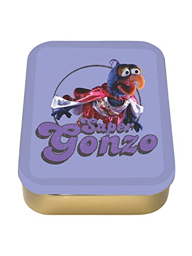 Genuine Disney The Muppets Super Gonzo 2oz Collectors Tin Storage - Gonzo Retro