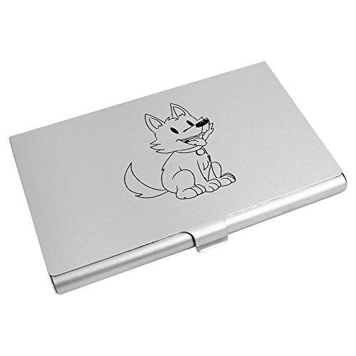 CH00011552 Wallet Holder Business Azeeda Card Puppy' Credit 'Husky Card 8wqHR