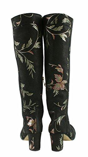 BOSCCOLO 4700 Stiefel Blatt-Design, Boots Leaf Design, Bottes Feuille Design