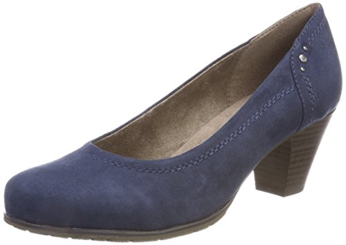 Softline Damen 22465 Pumps Blau (Navy)