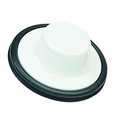 BrassCraft BC7130 W Garbage Disposal Stopper in White Fits BC7125 W