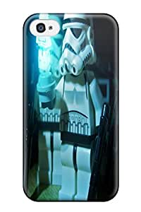 DanRobertse Snap On Hard Case Cover Star Wars Stormtroopers Legos Protector For Iphone 4/4s