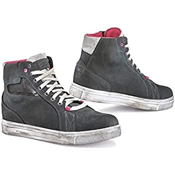 TCX Street Ace Lady Air Womens Street Motorcycle Shoes Cold Grey//Fuchsia 35