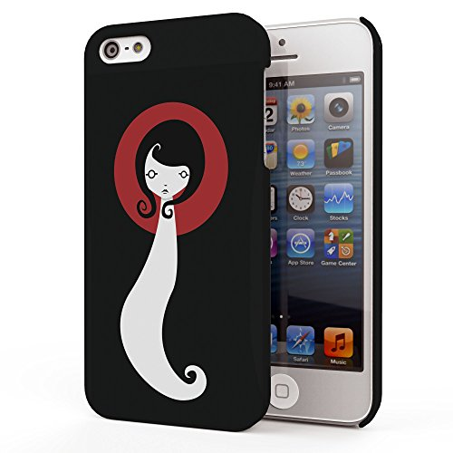 Koveru Back Cover Case for Apple iPhone 5S - Ready to Go Girl