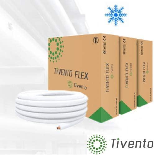 Klimaanlagen K/ältemittelleitung K/älteleitung Kupferrohr isoliert 1//4 7m 1//4 + 3//8 3//8