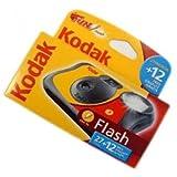 Kodak FUNFLASH/39 - Macchina fotografica usa e getta, con flash, 27 + 12 foto