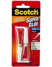 Scotch AD117 General Purpose Super Glue, Transparent