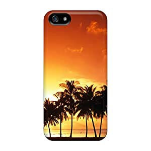 Cute High Quality Iphone 5/5s Palm Trees Case