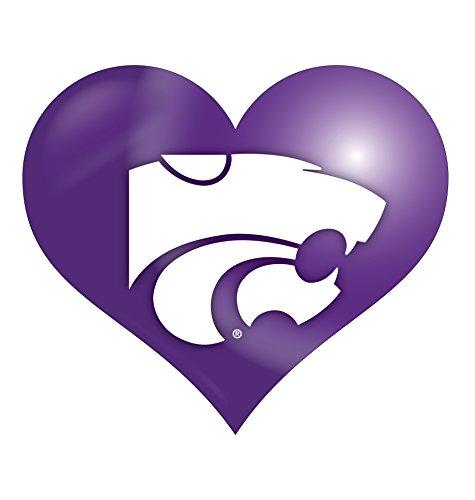 - Kansas State Wildcats Heart Magnet Single