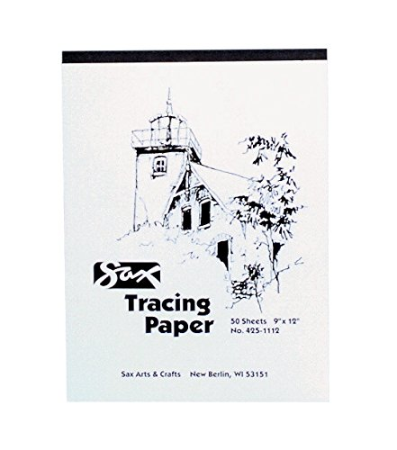 Sax Tracing Paper Pad - 19 x 24 - Pack of 50