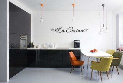 La Cocina wall quote wall sticker wall decals quotes Kitchen