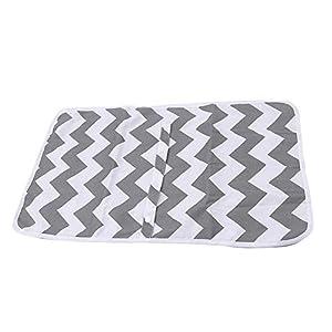 Home Holic Diaper Changing Mat Portable Travel Foldable Nappy Baby Diaper Changing Mats Infant Toddler Newborn…
