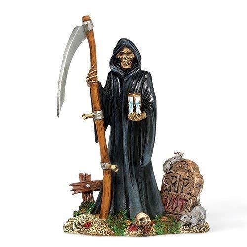 GRIM REAPER Dept 56 Halloween Village Figurine -
