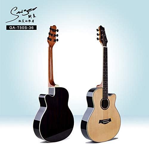 SUNXK 36 Pulgadas Guitarra eléctrica Cuadro de Guitarra Popular ...