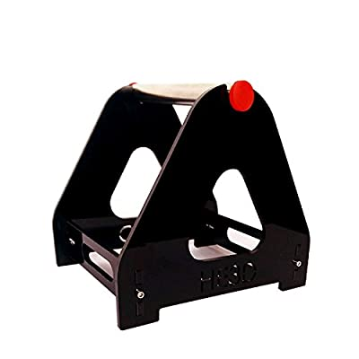 HE3D Acrylic 3D Printer Tabletop Filament Holder for 1 spool used for ABS/PLA/wood/TPU/other 3D printing material