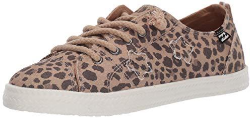 Billabong Cheetah - Billabong Women's Marina Sneaker, Cheetah, 9 M US
