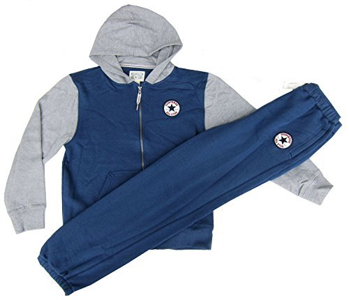 Converse en color azul y gris Chándal Chuck Taylor para la escuela ...