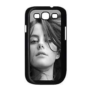Kaya Scodelario funda Samsung Galaxy S3 9300 caja funda del teléfono celular del teléfono celular negro cubierta de la caja funda EEECBCAAL04841