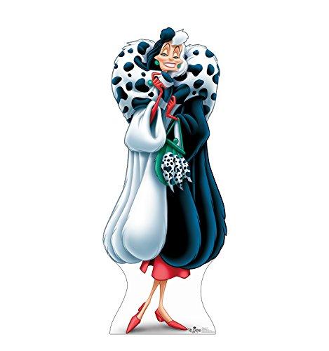 Advanced Graphics Cruella De Vil Life Size Cardboard Cutout Standup - Disney Villains -