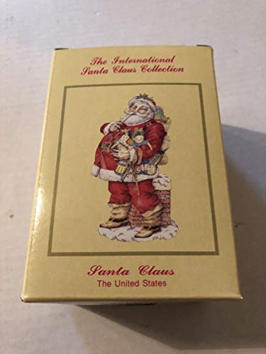 International Santa Santa Claus The United States Christmas Figurine Claus Collection SC06