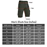 Hiauspor Men's Mountain Bike Shorts Stretch MTB