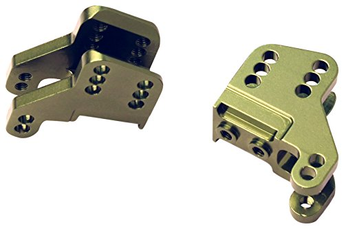 ST Racing Concepts STA31317G CNC Machined Aluminum Lower Shock Mount, Axial RR10 Bomber/Wraith, Green