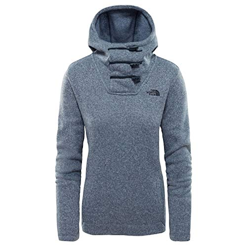 Blu Face Crescent North The Hoody Mélange qxf5IWYT
