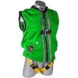 Guardian Fall Protection 02210 Green Mesh Construction Tux Harness, Medium