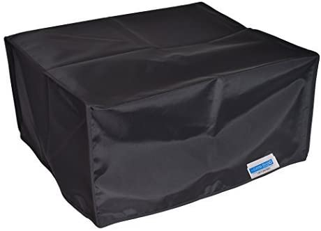 Black Nylon Anti-Static Dust Cover by Comp Bind Technology Comp Bind Technology Printer Dust Cover for Epson Expression Premium XP-6000 Small in-One Printer Dimensions 13.7W x 13.4D x 5.6H