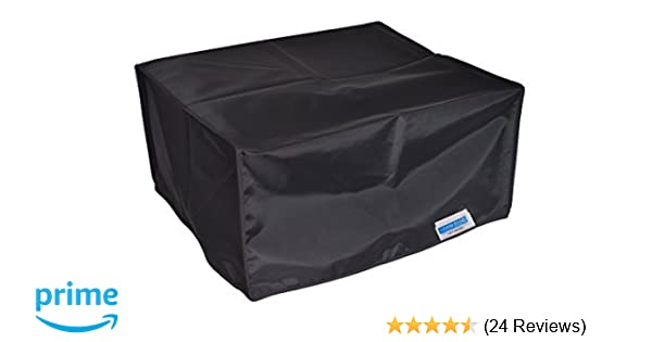 see BELOW sizes to pic from w//warranty Used DUST COVER for computer monitor//fax