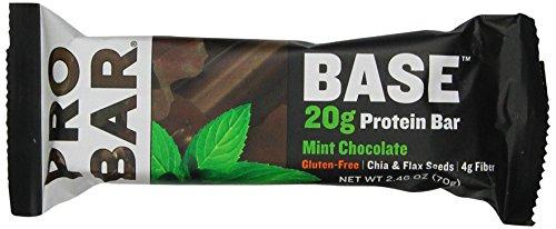 ProBar База Protein Bar, мята шоколад, 2,46 Унция (в упаковке 12)