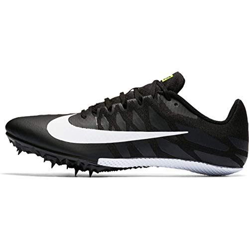 Nike Zoom Rival S 9 Track Spike Black/White/Volt Size 7 M US