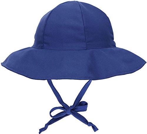 Children's Sun Protective Chin Strap Floppy Hat
