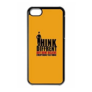 iPhone 5c Cell Phone Case Black Positive Thoughts 2 Thcaw